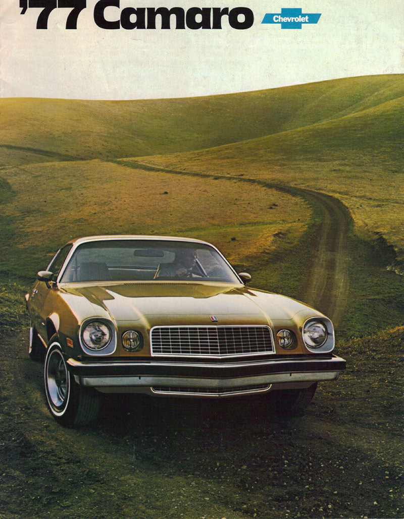 Vintage Camaro Advertising Oozes Performance & Confidence • Petrolicious