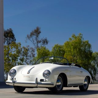 Former Porsche Speedster Race Car Now Cruises San Diego Hills
