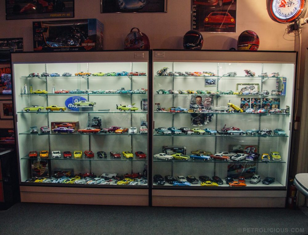 Restoring Large Cars Leads To Large Die Cast Collection