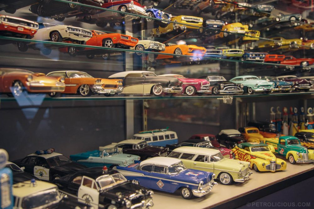 Restoring Large Cars Leads To Large Die-Cast Collection • Petrolicious