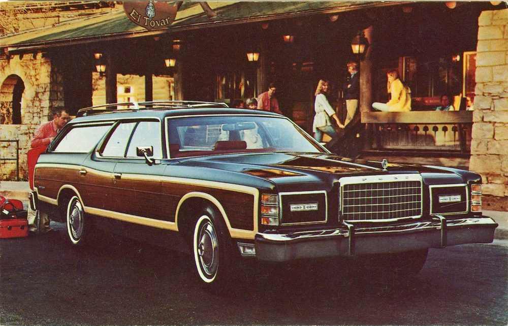 Ford Country Squire Wagons Offered More Space for Precious Cargo ...