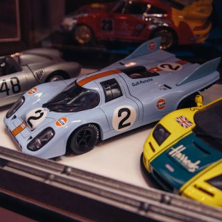 Restoring Large Cars Leads To Large Die-Cast Collection