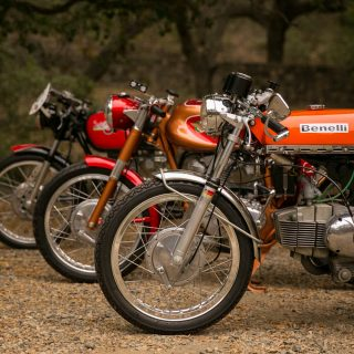 Details and Behind the Scenes with Vintage Italian Bikes