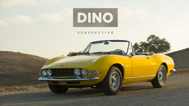 Fiat Dino Spider Gives A New Perspective