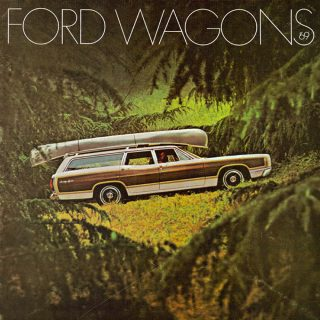 Ford Country Squire Wagons Offered More Space for Precious Cargo