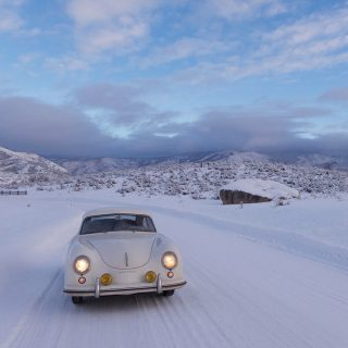 Pre-A Porsche 356 Runs Great In The Wintry Rockies