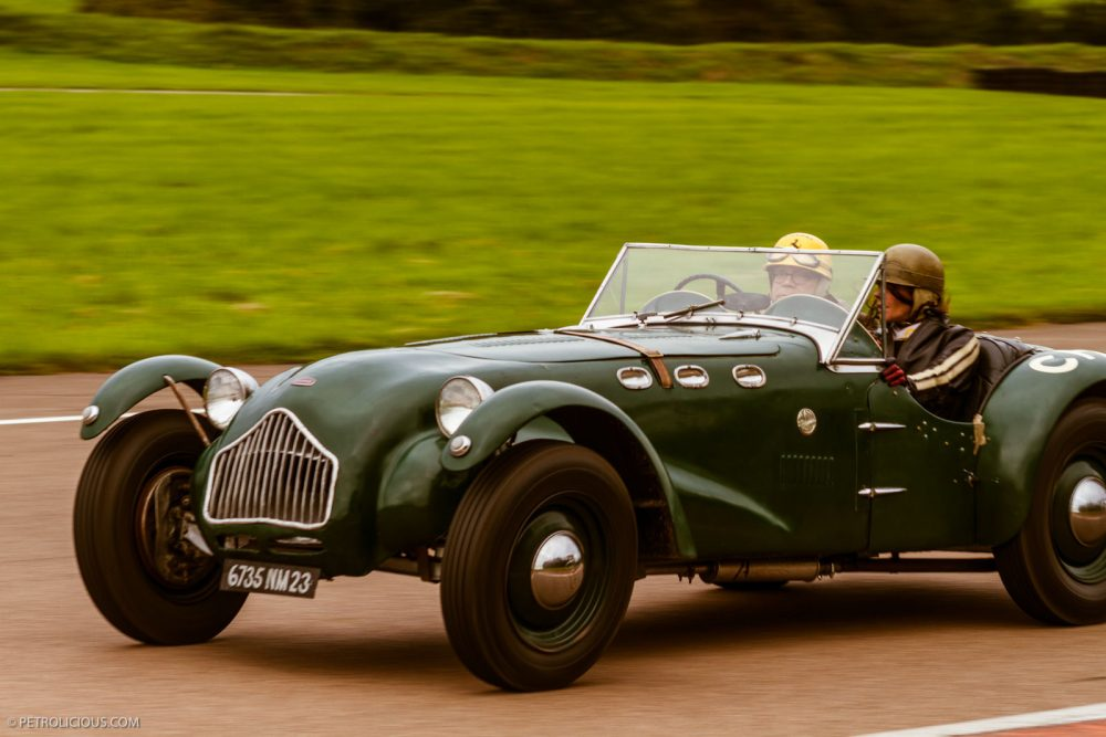 A Classic, arrayed in British Racing Green,  Photo Courtesy of Petrolicious