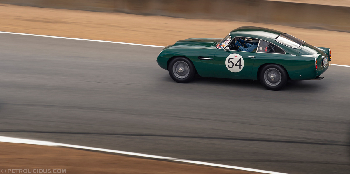 James Bond might have stood out less if his DB5 was BRG rather than silver...  Photo Courtesy of Petrolicious