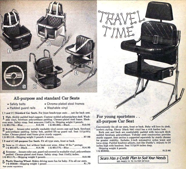 A Graphic History Of Child Safety Seats Petrolicious