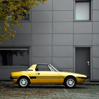 This Fiat X1/9 Brings Sunshine To Antwerp
