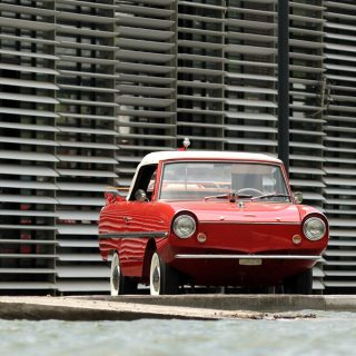 The Amphicar 770 is a Car No One Understands, Everyone Loves