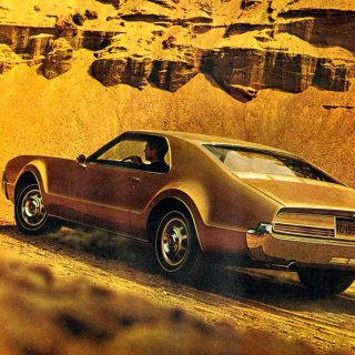 The Oldsmobile Toronado's Design is Striking, Dishonest