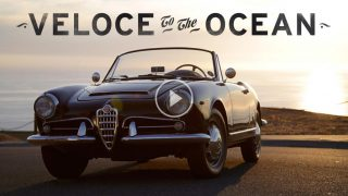 Alfa Romeo Giulia Spider Veloce Runs To The Ocean