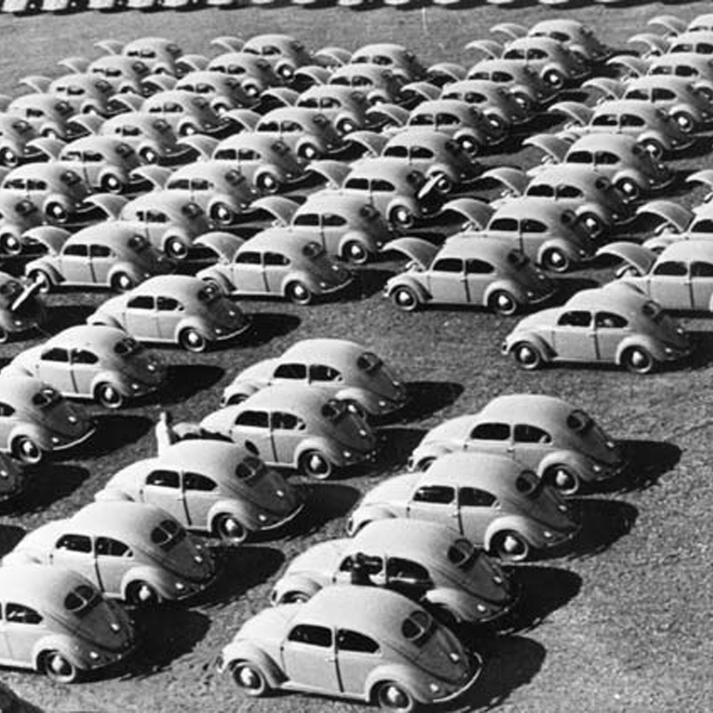 A Snapshot of the VW Beetle Assembly Line