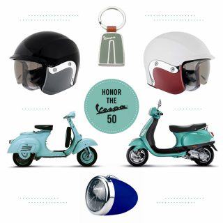 Style Inspiration: Take a Spin on the Vespa 50