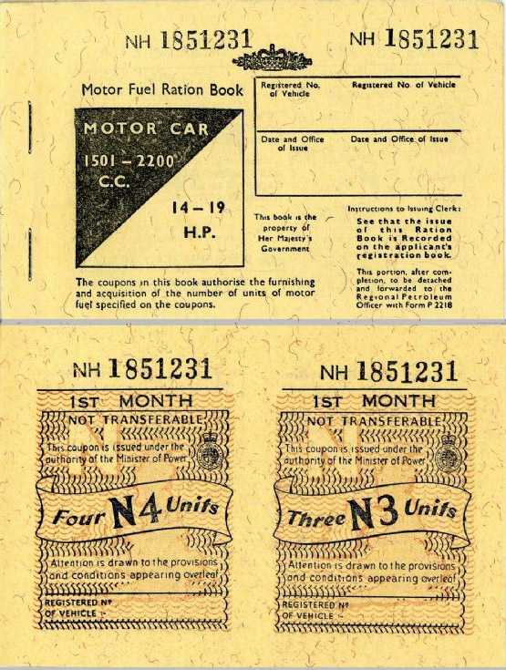 Wwii Era Gas Ration Coupons Remind Us How Lucky We Are