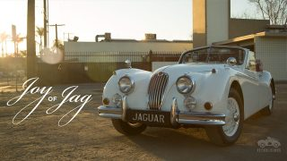 Jaguar XK140 Brings Coventry to Compton