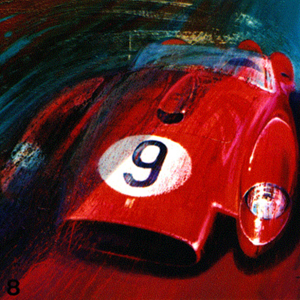 Legendary French Designer Paints Vivid Automotive Art