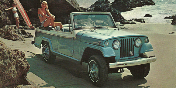 From The Way Jeep Advertised Jeepster Commando Its Clear That It Was Intended As A Do All Go Anywhere Sort Of Car Whether Meant Mountains