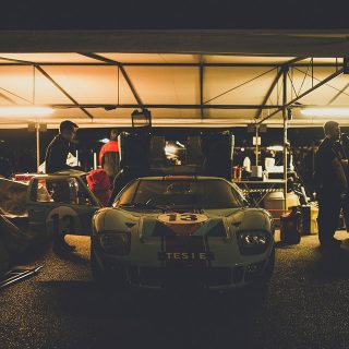 The Cars of the Very Exclusive Goodwood Members' Meeting