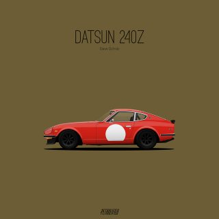 Simple, Elegant Artwork Inspired by Petrolicious Video