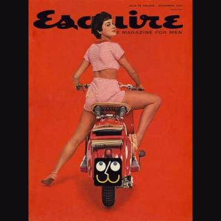"Cool and Classic ""Esquire"" Covers on Travel and Cars"