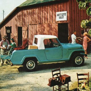 Jeepster Commando Was Built To Perform