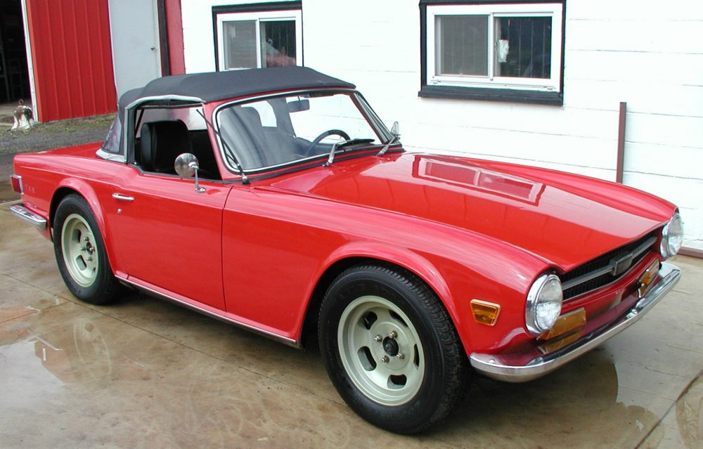 The 60th Triumph TR6 Off the Line Is for Sale • Petrolicious