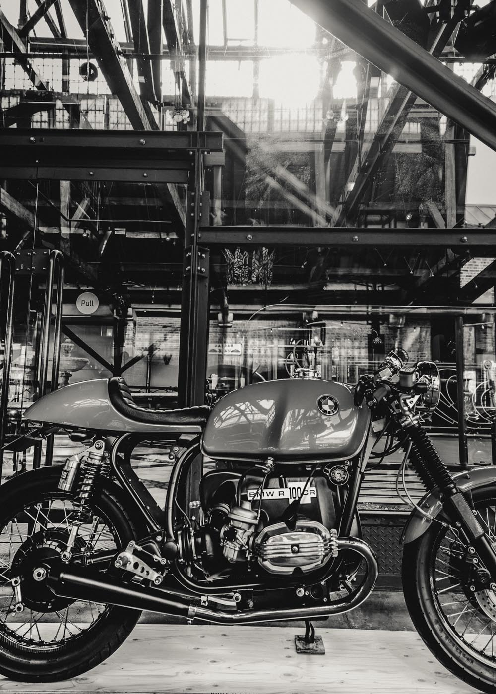 D Exhibition In London : Motorcycle event in london celebrates the custom bike