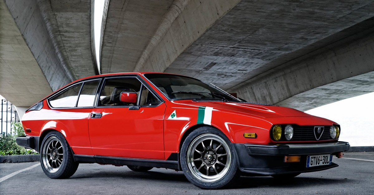 A Couple Restored This Alfa Romeo In An Apartment Parking Stall Petrolicious