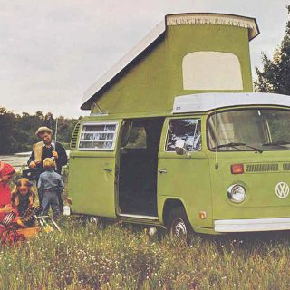 Vintage VW Bus Photos Have Us Longing for the Road