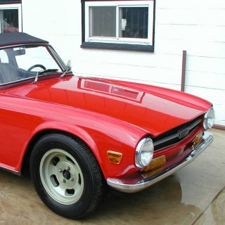 The 60th Triumph TR6 Off the Line Is for Sale