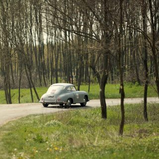 Ancient Backdrop Hosts Rally Cars that Span Decades