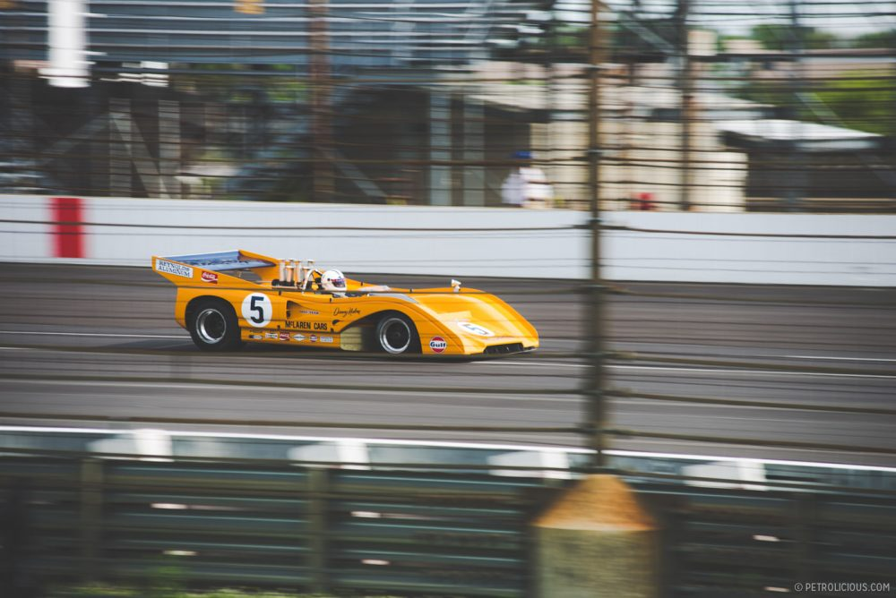 Legendary Race Cars Hit The Track At Indy Motor Speedway