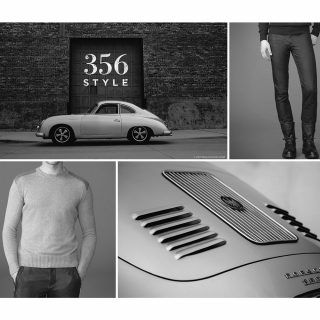 Porsche and Belstaff both Designed for Speed and Style