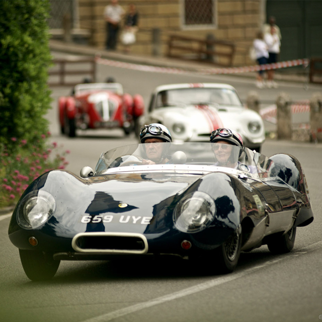 The Bergamo Historic Gran Prix Roars around the City's Walls