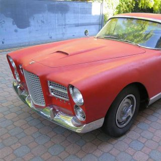 This Facel Vega is an Unrestored Piece of History