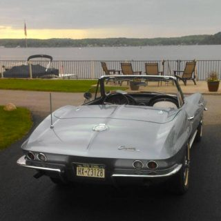 Numbers-Matching Mid-Year Corvette Roadster For Sale
