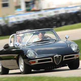 Dual Purpose: Alfa Romeo Races, and Wins Shows