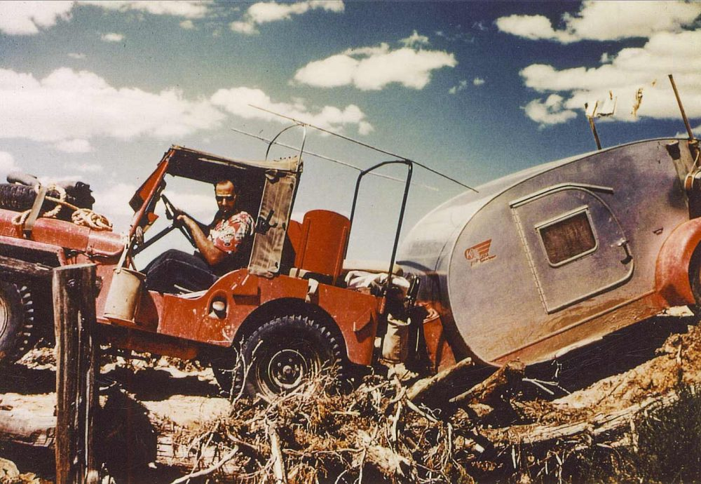 Willys Jeep Carries Family Through Sixty Years of Desert