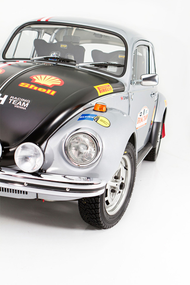 Homebuilt Rally Inspired Super Beetle Fits Just Right