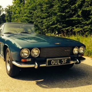 "Good Looks and Eight-Cylinder Muscle ""Come Together"" in This Jensen"