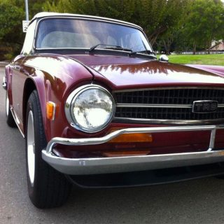 This TR6 Has Triumphed Over the Effects of Time