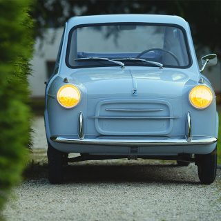 Maximum Italian Style from Vespa Micro Car