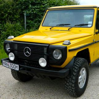 This Mercedes is a Collectable Cube