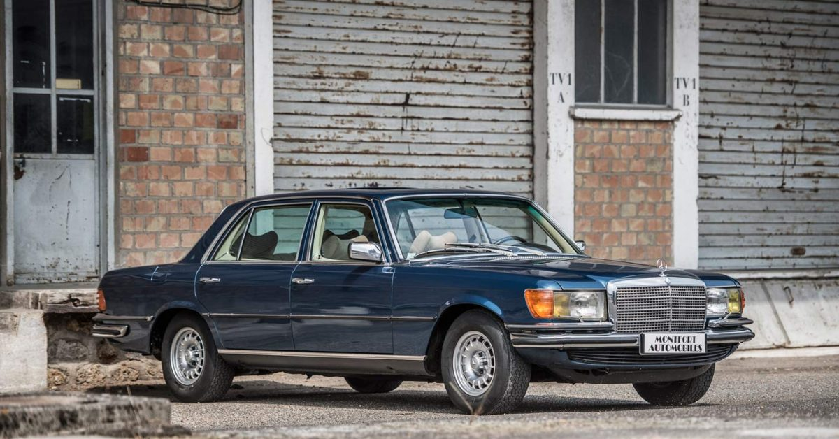 Mercedes-Benz 450SEL 6.9 Was All About Engineering