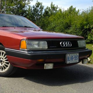 Audi 5000CS Avant for Sale Features A Stick