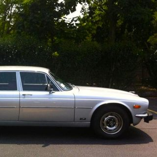 Long, Silver Jaguar Looking for New Owner