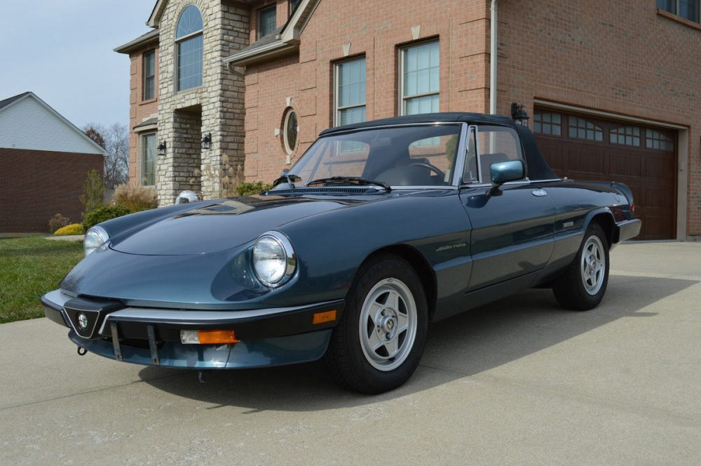 Classic S Italian Cars For Sale Now Petrolicious - 1980 alfa romeo spider for sale