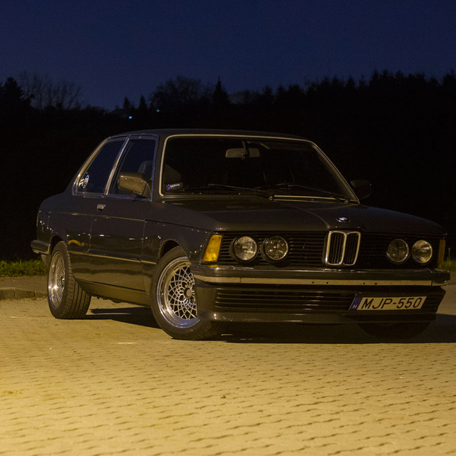 Lateral Gs are BMW E21's Best Friend